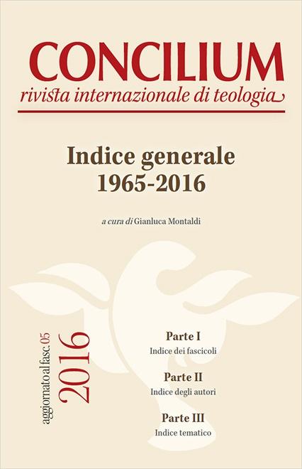 Concilium. Indice generale 1965-2016