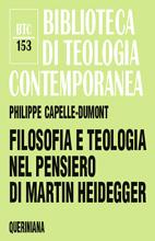 Risultati immagini per Philippe capelle-dumont la teologia e la filosofia in martin heidegger