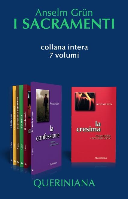 I sacramenti, di A. Grün (7 volumi)