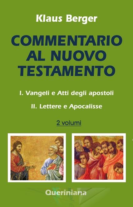 Commentario al Nuovo Testamento (2 volumi)