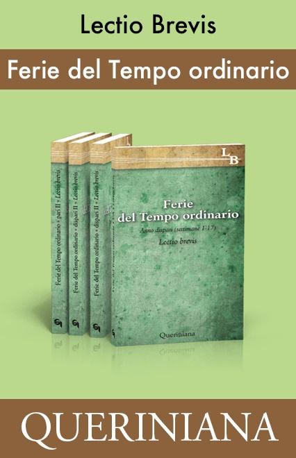 Ferie del Tempo Ordinario (4 volumi)