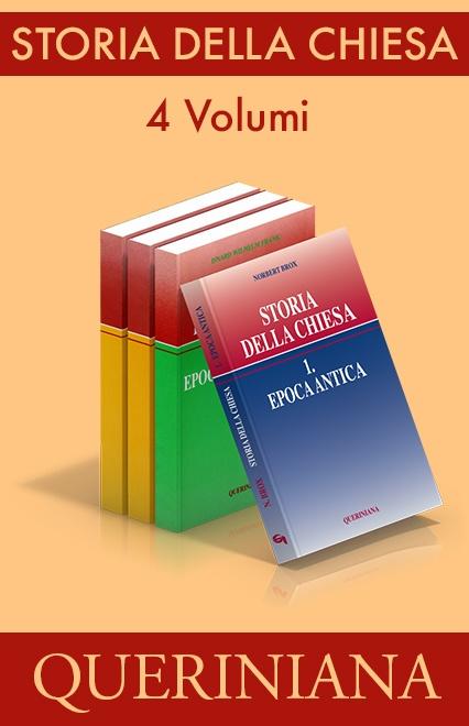 Storia della Chiesa (4 volumi)