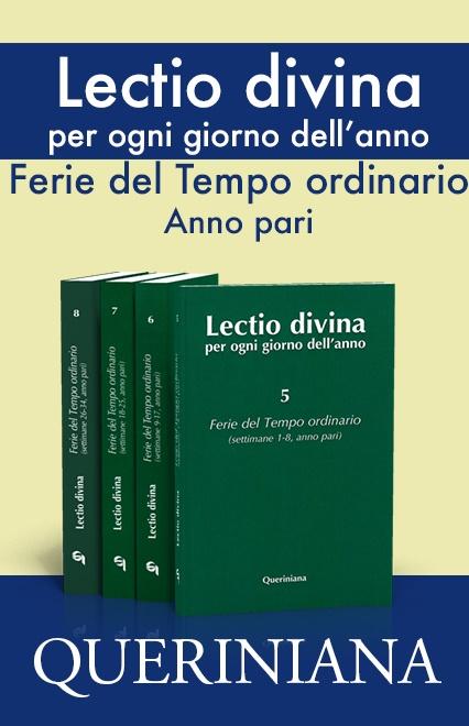 Lectio divina per ogni giorno dell'anno. Ferie del Tempo ordinario, anno pari. (4 volumi)