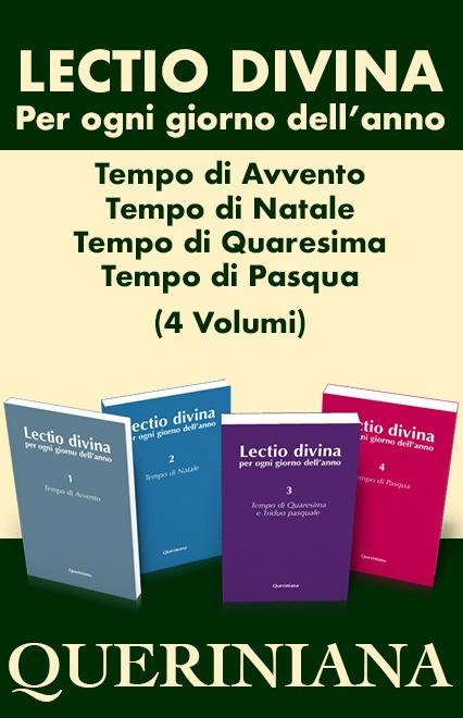 Lectio divina per ogni giorno dell'anno. Avvento, Natale, Quaresima, Tempo pasquale (4 volumi)