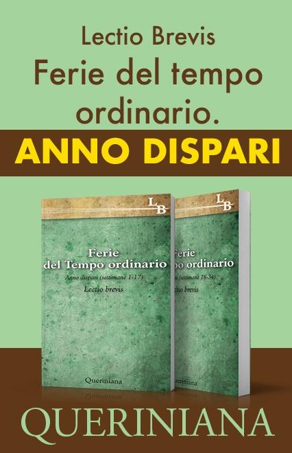 Ferie del Tempo Ordinario. Anno dispari (2 volumi)
