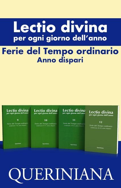 Lectio divina per ogni giorno dell'anno. Ferie del Tempo ordinario, anno dispari. (4 volumi)