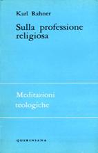 Sulla professione religiosa