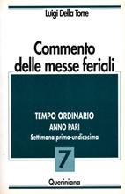 Commento delle messe feriali vol. 7.