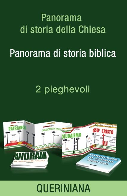 Panorama di storia della Chiesa – Panorama di storia biblica (2 pieghevoli)