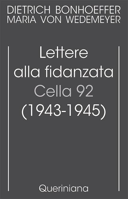 Lettere alla fidanzata — Cella 92 (1943-1945)