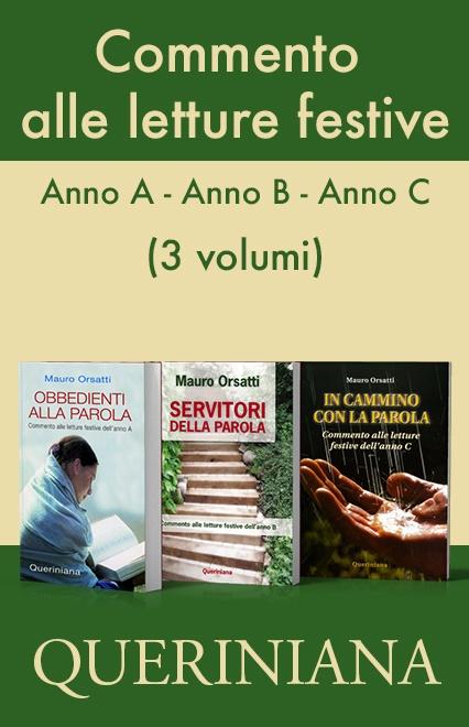 Commento alle letture festive - Anno A, Anno B, Anno C (3 volumi)