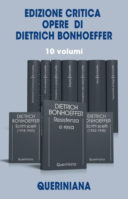 Edizione critica Opere di Dietrich Bonhoeffer (10 volumi)