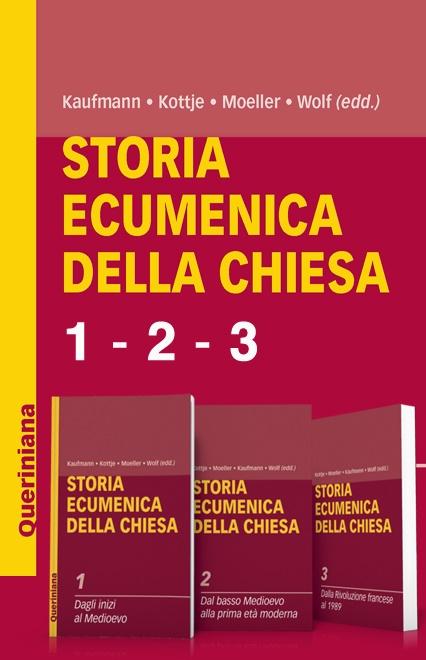 Storia ecumenica della Chiesa (3 volumi)