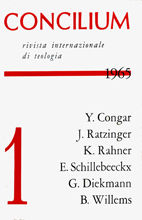 Concilium 1/1965