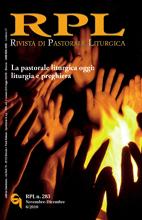 Rivista di Pastorale Liturgica 6/2010