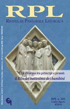 Rivista di Pastorale Liturgica 4/2014