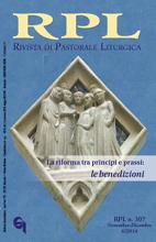 Rivista di Pastorale Liturgica 6/2014