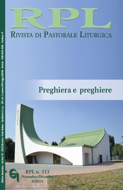 Rivista di Pastorale Liturgica 6/2015