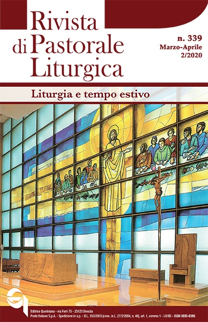 Rivista di Pastorale Liturgica 2/2020
