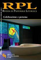 Rivista di Pastorale Liturgica 6/2008