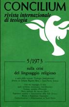 Concilium 5/1973