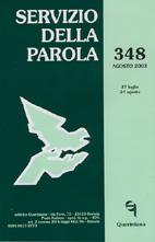 Servizio della Parola 348/2003