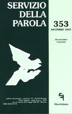 Servizio della Parola 353/2003