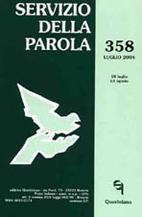 Servizio della Parola 358/2004