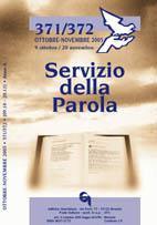 Servizio della Parola 371-372/2005