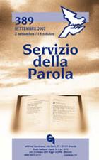Servizio della Parola 389/2007