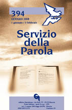 Servizio della Parola 394/2008